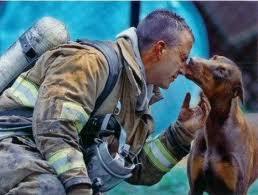 Спасатели вынесли из огня щенка