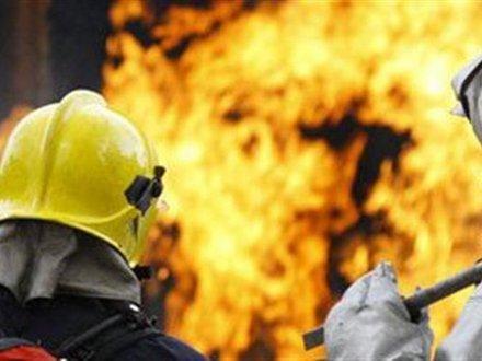 Серия пожаров в регионе