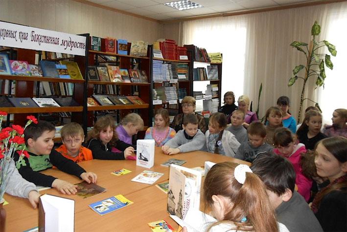 Новый зал православной литературы