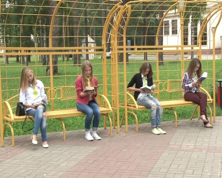 Флеш-моб в Новополоцке