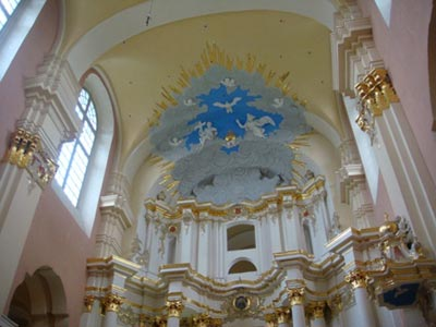 Знакомство с библиотекой полоцкого Софийского собора