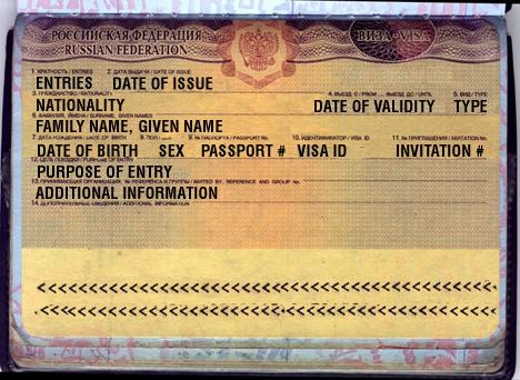 Приглашения для иностранцев в страну