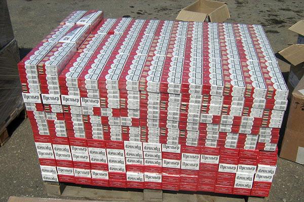 Нелегальная перевозка сигарет