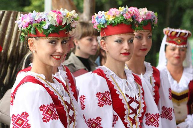 Возрождение белорусского фольклора
