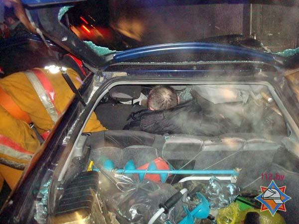 В Новополоцке случилось три аварии, которые угрожали жизни людей