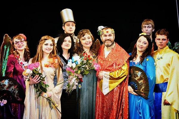 «Пилигрим» представил публике новый спектакль