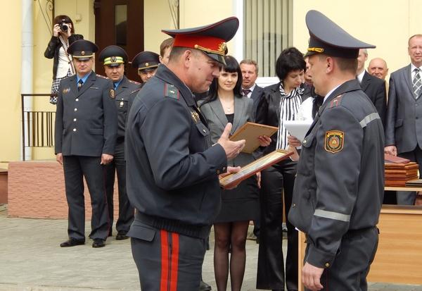 Новоселье полоцкой охраны