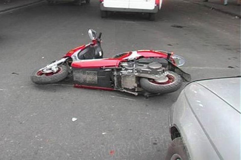 От пьяного на скутере жди беды