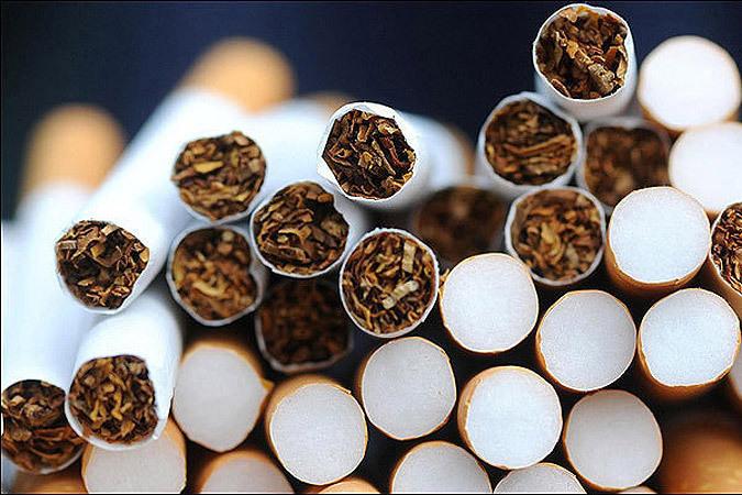 партию сигарет