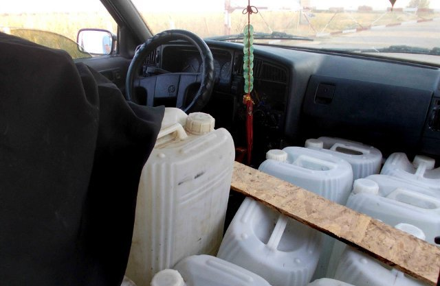120 литров спиртосодержащей продукции не достигли пункта назначения
