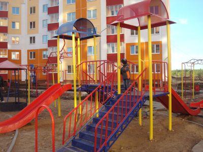 Новый микрорайон с заботой о детях