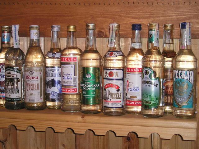 Цена проступка – бутылка водки