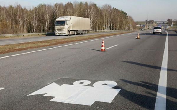 На автодорогах Витебской области места камер фотофиксации будут отмечены сп ...