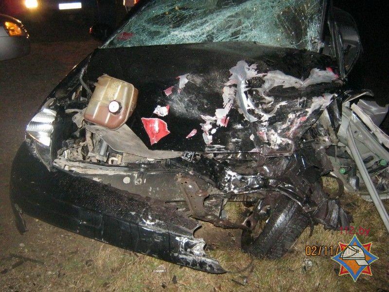 ДТП под Полоцком: спасатели деблокировали четверых «заложников» аварии