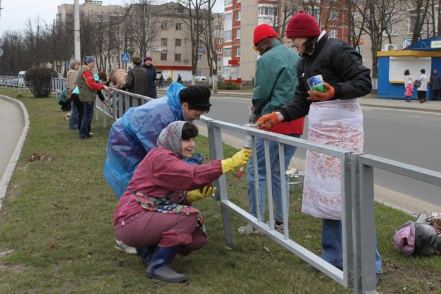 Зиму родная Полотчина встретит чистой и красивой
