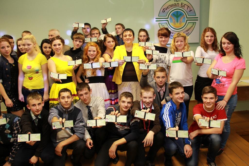Полоцкий государственный лесной колледж принял в свои ряды «новобранцев»