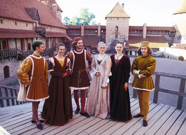 выходные в средневековом стиле