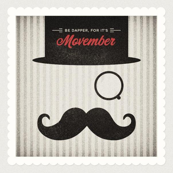 Movember- Небритябрь в PLASTiliNe 29 ноября