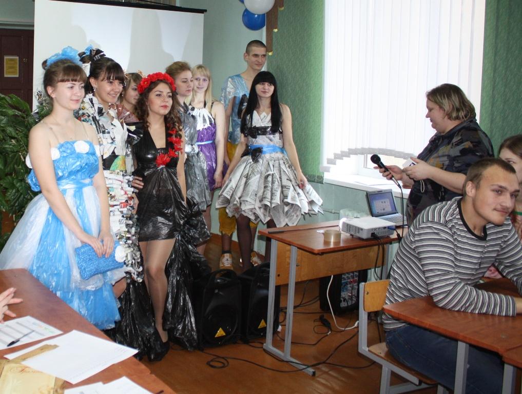 В Полоцком медицинском  колледже прошёл экологический фестиваль