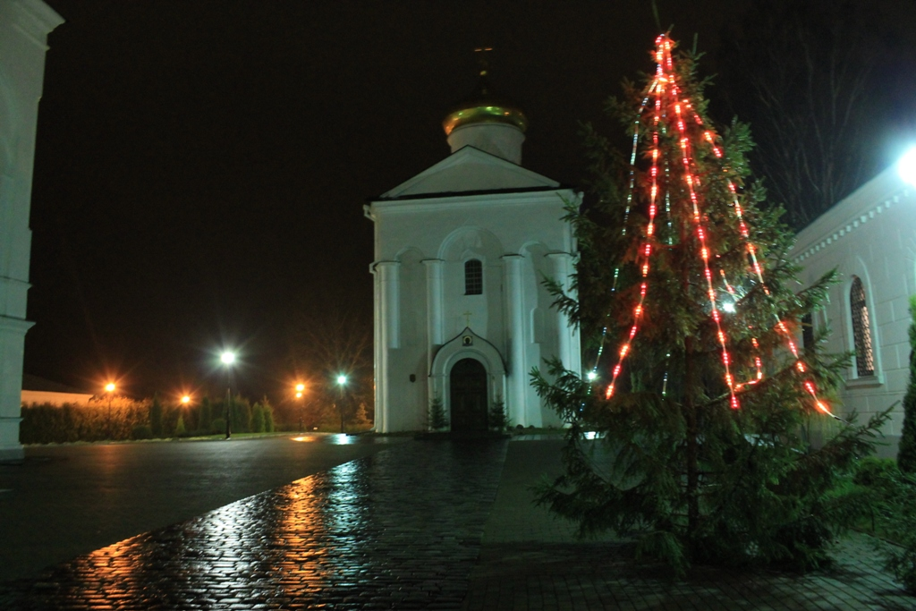 В воскресной школе Полоцкого Спасо-Евфросиниевского монастыря 11 января про ...