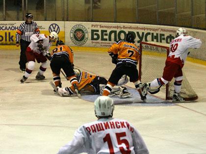 Из Бреста новополоцкие хоккеисты вернулись с победой
