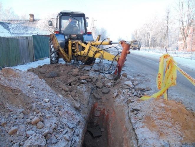 Полоцкие рабочие повредили фундамент древнего Борисоглебского монастыря