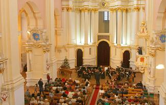 З0 лет исполняется органу концертного зала Софийского собора в Полоцке