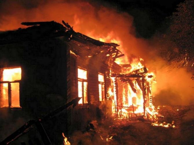 Житель Полоцка погиб на пожаре