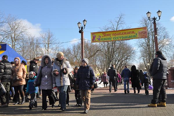 Масленичные гулянья приглашают жителей Полотчины на проводы зимы