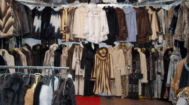 Меховые изделия на 640 млн. рублей арестовали полоцкие налоговики