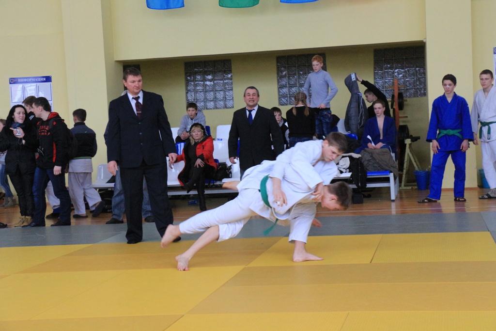 Полоцкие дзюдоисты - чемпионы Первенства Витебской области