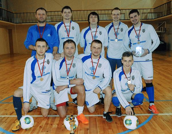 Победители полоцкого мини-футбольного турнира