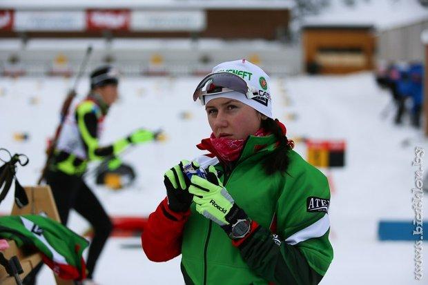 Ирина Кривко в мировой двадцатке по биатлону