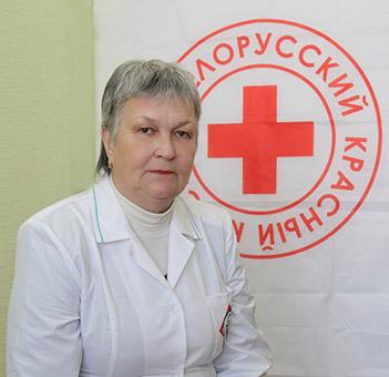 Новополочанка удостоена благодарности Красного Креста