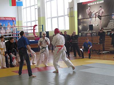 VII Открытый кубок по каратэ-до прошел в Полоцке