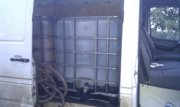 Десть тысяч литров дизтоплива изъято у жителя Полоцкого района