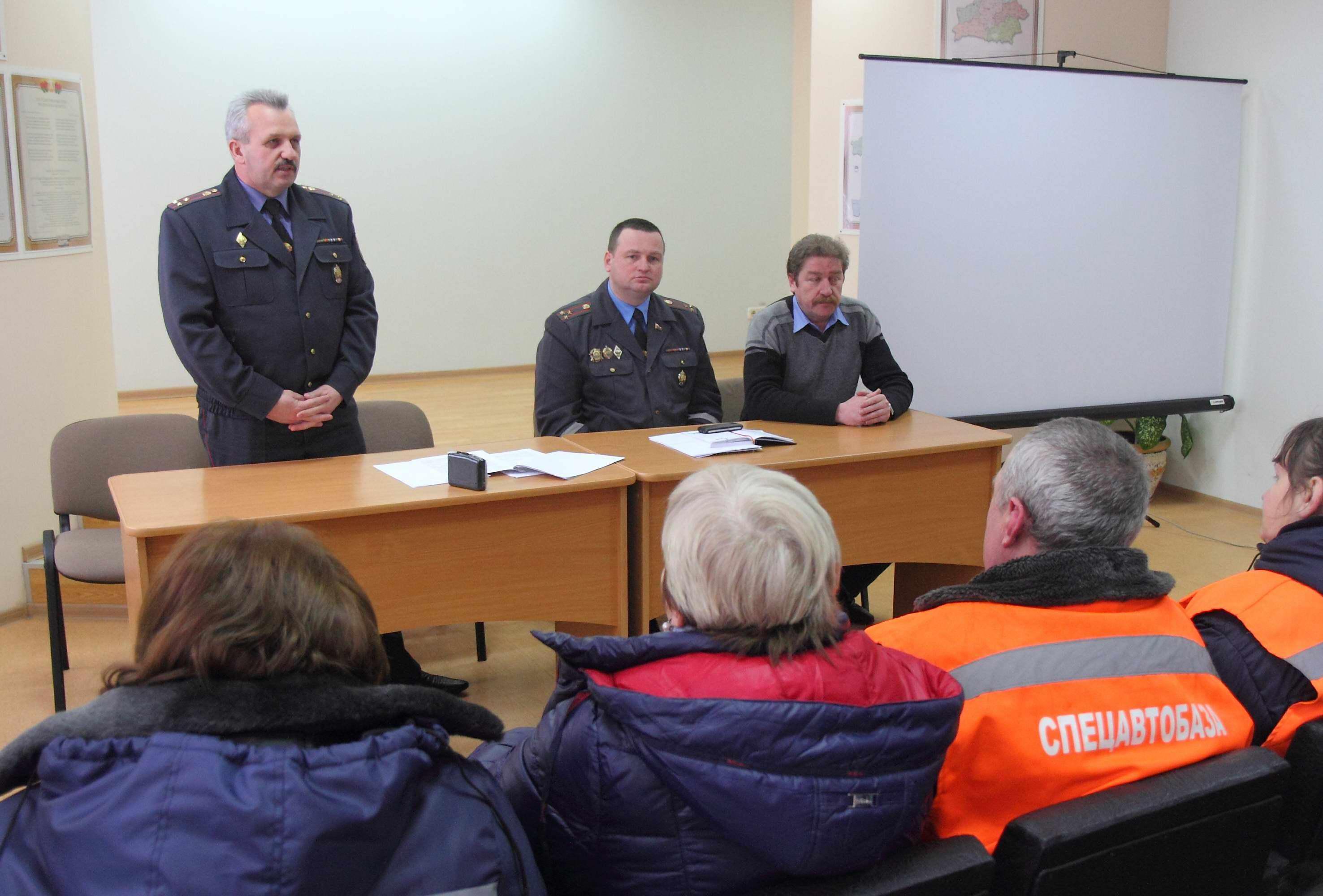 Новополоцкая милиция отчиталась по статистике городских преступлений