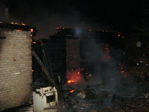 Пожар в Полоцком районе унес жизнь пожилого человека