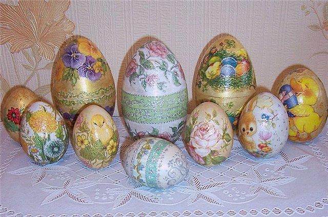 пасхальных яиц