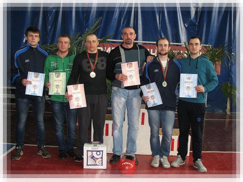 Второе место на республиканском чемпионате по гиревому спорту у Полоцкой ко ...
