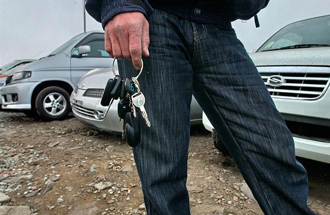 В апреле участились случаи угона транспортных средств