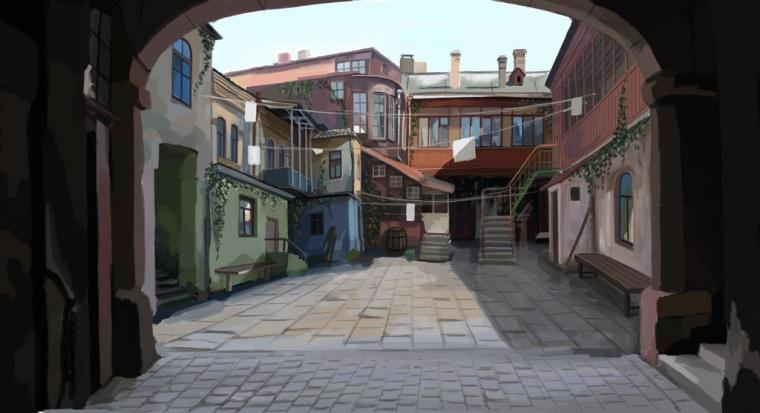 Притяжение для туриста: одесские дворики