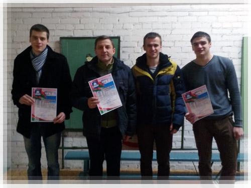 Победа в соревнованиях по стрельбе у команды ПГУ