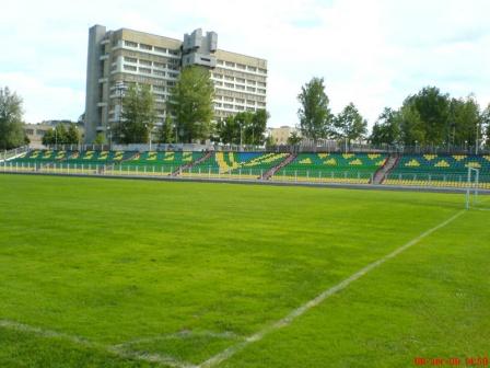 Новополоцкий стадион «Атлант» примет участников футбольного чемпионата
