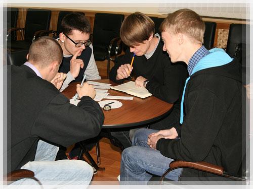 В Полоцком коллегиуме прошел конкурс «ИнтеллектStyle»