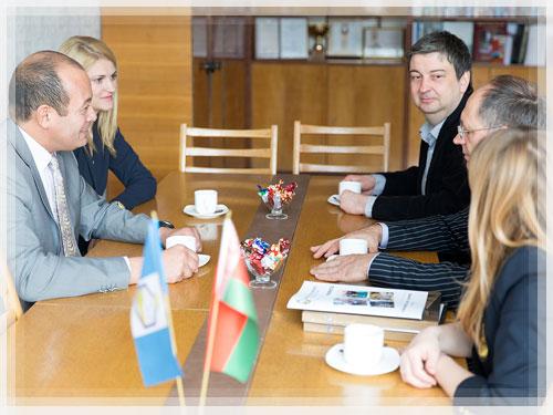 Полоцкий университет посетила Парижская делегация