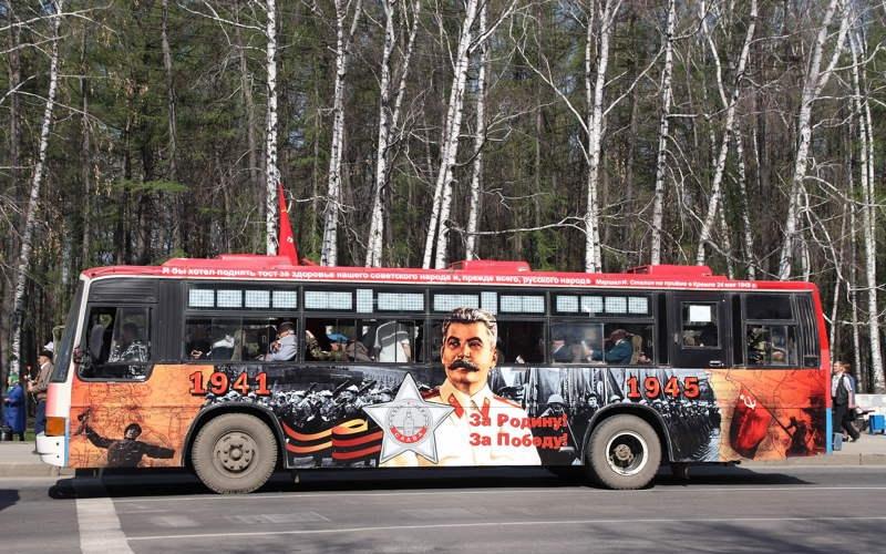 С 7 по 9 мая в Полоцке проедут «Автобусы Победы»