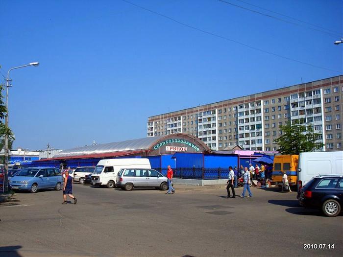 Полоцкий ОБЭП с налоговой отреагировали на жалобу и посетили местный рынок