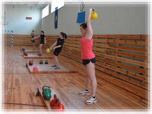 В ПГУ прошли соревнования по гиревому спорту на кубок Витебской области