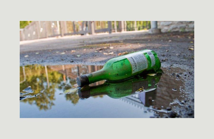 29-летний полочанин украл бутылку у пенсионера